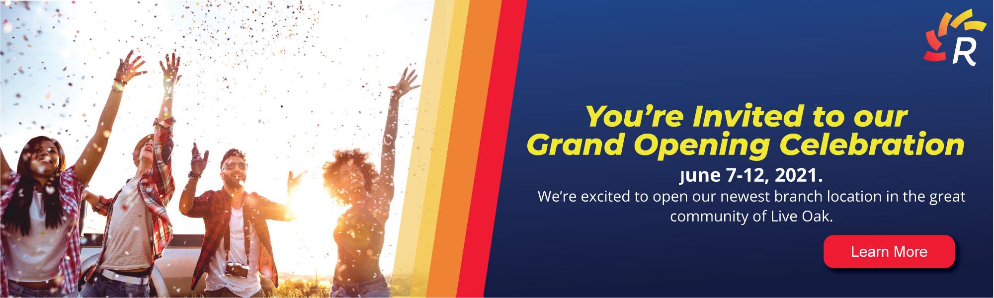 Live Oak Grand Opening