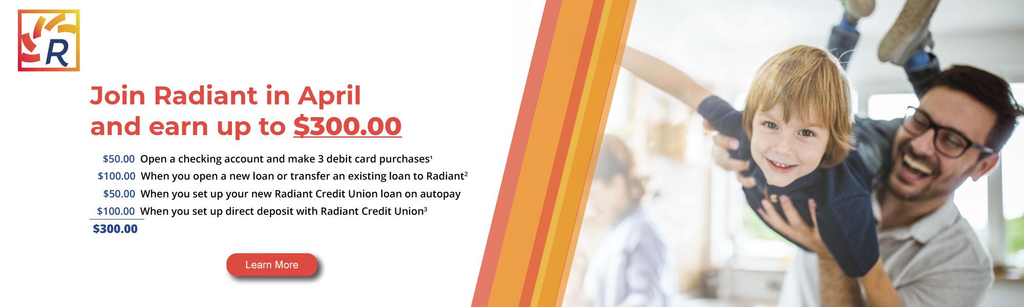 Membership at Radiant Credit Union